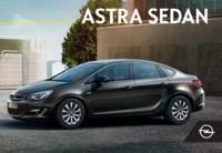 Opel Astra Sedan Kataloğu Sayfa 1