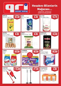 Gri Ucuz Satış 17 - 20 Ocak 2019 Kampanya Broşürü! Sayfa 1