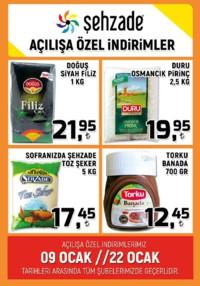 Şehzade Market 09 - 22 Ocak 2019 Kampanya Broşürü! Sayfa 2 Önizlemesi