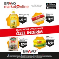 Bravo Süpermarket 07 - 31 Ocak 2019 Mobil Uygulamaya Özel İndirimler Sayfa 1