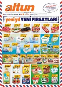 Altun Market 11 - 21 Ocak 2019 Kampanya Broşürü! Sayfa 1