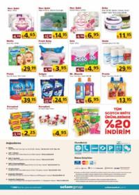 Selam Market 18 - 31 Ocak 2019 Kampanya Broşürü! Sayfa 4 Önizlemesi