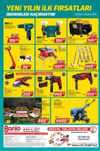 Banio Yapı Market 18 Ocak - 03 Şubat 2019 Kampanya Broşürü! Sayfa 4 Önizlemesi