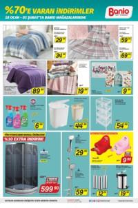 Banio Yapı Market 18 Ocak - 03 Şubat 2019 Kampanya Broşürü! Sayfa 3 Önizlemesi
