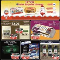Sarıyer Market 18 - 30 Ocak 2019 Kampanya Broşürü! Sayfa 4 Önizlemesi