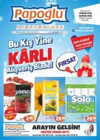 Papoğlu Market 10 - 23 Ocak 2019 Kampanya Broşürü! Sayfa 1