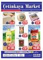 Çetinkaya Market 22 - 25 Mart 2019 Kampanya Broşürü! Sayfa 1
