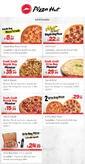 Pizza Hut 01 - 31 Mart 2019 Gel-Al Fırsatları Broşürü Sayfa 1
