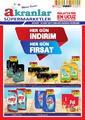 Akranlar Süpermarket 05 - 25 Mart 2019 Kampanya Broşürü! Sayfa 1