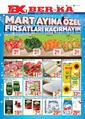 Grup Ber-ka Market 08 - 12 Mart 2019 Kampanya Broşürü! Sayfa 1