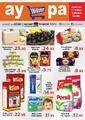 Aypa Market 11 - 16 Nisan 2019 Kampanya Broşürü! Sayfa 1