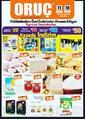 Oruç Market 11 - 18 Nisan 2019 Kampanya Broşürü! Sayfa 1