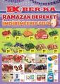 Grup Ber-ka Market 01 - 05 Mayıs 2019 Kampanya Broşürü Sayfa 1