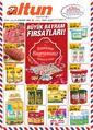 Altun Market 25 Mayıs - 09 Haziran 2019 Kampanya Broşürü! Sayfa 1