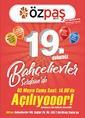 Özpaş Market 02 - 18 Mayıs 2019 Kampanya Broşürü Sayfa 1