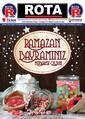 Rota Market 30 Mayıs - 12 Haziran 2019 Kampanya Broşürü! Sayfa 1 Önizlemesi