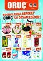 Oruç Market 10 - 22 Mayıs 2019 Kampanya Broşürü Sayfa 1