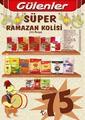 Gülenler Mağazaları 02 Mayıs - 03 Haziran 2019 Ramazan Paketleri Sayfa 1