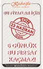Kadıoğlu Toptan Market 17 - 23 Haziran 2019 Kampanya Broşürü Sayfa 1