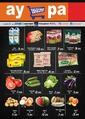 Aypa Market 05 - 07 Temmuz 2019 Hafta Sonu Kampanya Broşürü! Sayfa 1 Önizlemesi