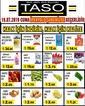 Taso Market 19 Temmuz 2019 İpekyolu Mağazasına Özel Kampanya Broşürü! Sayfa 1