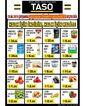 Taso Market 28 Ağustos 2019 Halk Günü Kampanya Broşürü! Sayfa 1