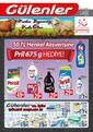 Gülenler Mağazaları 03 - 31 Ağustos 2019 Kampanya Broşürü! Sayfa 1