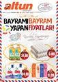 Altun Market 08 - 18 Ağustos 2019 Kampanya Broşürü! Sayfa 1