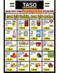 Taso Market 30 Ağustos 2019 Kampanya Broşürü! Sayfa 1 Önizlemesi