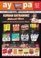 Aypa Market 05 - 10 Ağustos 2019 Kampanya Broşürü! Sayfa 1 Önizlemesi