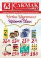Çakmak Market 28 Temmuz - 18 Ağustos 2019 Kampanya Broşürü! Sayfa 1