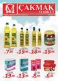 Çakmak Market 25 Ağustos - 08 Eylül 2019 Kampanya Broşürü! Sayfa 1