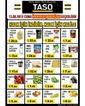 Taso Market 13 Eylül 2019 İpekyolu Mağazasına Özel Halk Günü Kampanya Broşürü! Sayfa 1