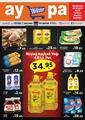 Aypa Market 26 - 30 Eylül 2019 Kampanya Broşürü! Sayfa 1 Önizlemesi