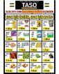 Taso Market 20 Eylül 2019 İpekyolu Mağazasına Özel Kampanya Broşürü! Sayfa 1