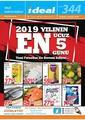 İdeal Hipermarket 20 - 24 Eylül 2019 Kampanya Broşürü! Sayfa 1