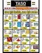 Taso Market 06 Eylül 2019 Halk Günü Kampanya Broşürü! Sayfa 1