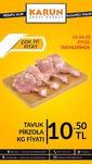 Karun Gross Market 13 - 15 Eylül 2019 Tavuk Kampanyası Sayfa 1 Önizlemesi