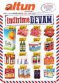 Altun Market 26 - 30 Eylül 2019 Kampanya Broşürü! Sayfa 1