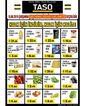 Taso Market 18 Eylül 2019 Halk Günü Kampanya Broşürü! Sayfa 1