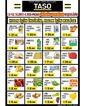Taso Market 12 - 13 Ekim 2019 Kampanya Broşürü! Sayfa 1