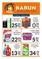 Karun Gross Market 01 - 16 Ekim 2019 Kampanya Broşürü! Sayfa 1