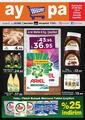 Aypa Market 03 - 09 Ekim 2019 Kampanya Broşürü! Sayfa 1 Önizlemesi