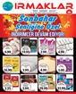 Irmaklar Market 16 - 20 Ekim 2019 Kampanya Broşürü! Sayfa 1
