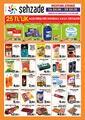 Şehzade Market 16 - 29 Ekim 2019 Kampanya Broşürü! Sayfa 1