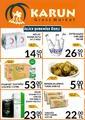 Karun Gross Market 04 - 10 Ekim 2019 İslice Mağazasına Özel Kampanya Broşürü! Sayfa 1