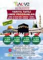 Acve Turizm 10 Aralık 2019 - 30 Ocak 2020 Yarıyıl Umre Programı Sayfa 1