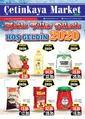 Çetinkaya Market 27 Aralık 2019 - 05 Ocak 2020 Kampanya Broşürü! Sayfa 1