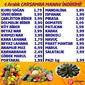 Emirgan Market 04 Aralık 2019 Manav İndirimleri Sayfa 1