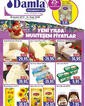 Damla Market 20 Aralık 2019 - 01 Ocak 2020 Kampanya Broşürü! Sayfa 1